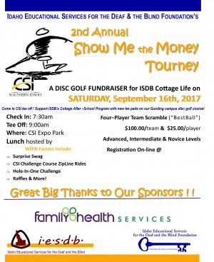 2nd Annual Show Me The Money Disc Golf Tournament graphic