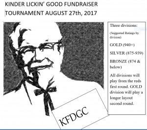 Kinder Lickin' Good Fundraiser graphic