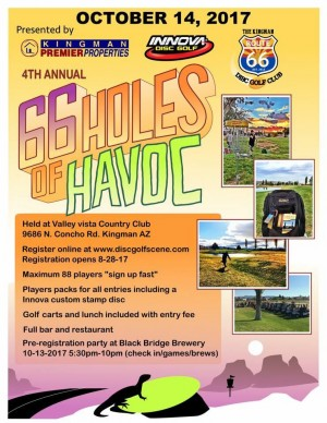 4th Annual 66 Holes of Havoc graphic