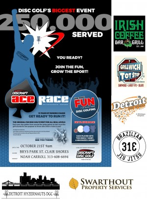 Brys Park Ace Race Presented by Discraft graphic