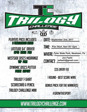 Tyler State Park Trilogy Challenge 2017 graphic