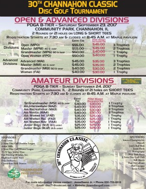 30th Channahon Classic - PRO/ADV graphic