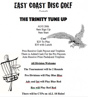 The Trinity Tune Up graphic