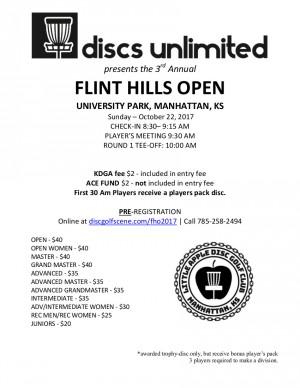 Flint Hills Open graphic