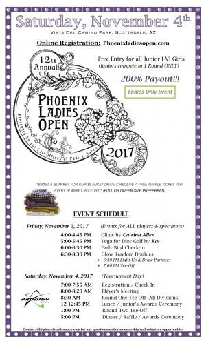 12th Annual Phoenix Ladies Open graphic