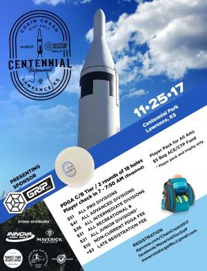 Maverick DG: Centennial Chain Crash IV presented by GRIPeq graphic