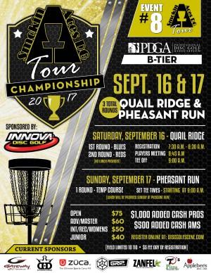 Smokin Aces Tour Championship sponsored by Innova graphic