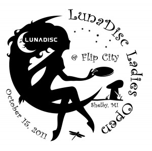 LunaDisc Ladies Open graphic