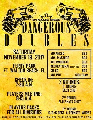 Dangerous Doubles presented by Dynamic Discs graphic