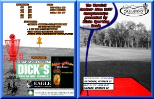 The Warwick Amateur Disc Golf Championships presented by Dicks Sporting Goods graphic