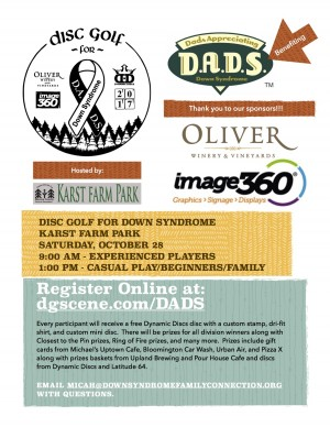 Disc Golf for Down Syndrome graphic