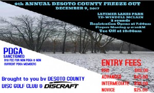 9th Annual Desoto County Freeze Out graphic