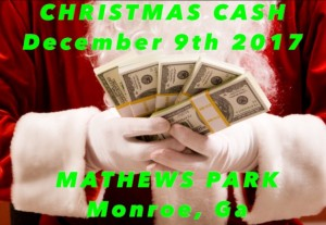 3rd Annual CHRISTMAS CASH graphic