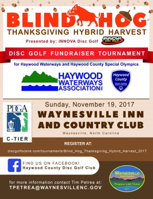 Blind Hog Thanksgiving Hybrid Harvest  presented by Innova Disc Golf graphic