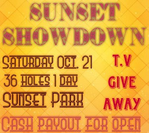 Sunset Showdown presented by Hells Canyon Disc Golf graphic