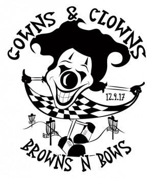 Gowns and Clowns graphic