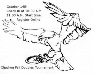 Chadron Fall Doubles Tournament graphic