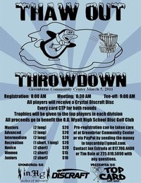 Thaw Out Throwdown graphic