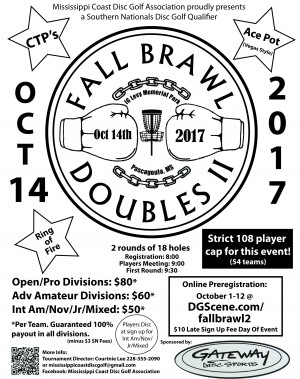 MCDGA presents Fall Brawl Doubles II graphic