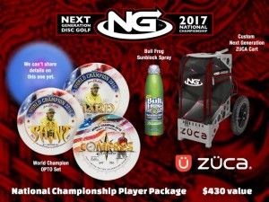 Next Generation Disc Golf National Championship by Latitude 64 graphic