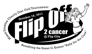 Flip Off 2 Cancer Mixed Doubles for Charity graphic