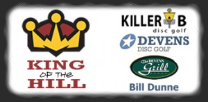 King of the Hill presented by Killer B Disc Golf graphic