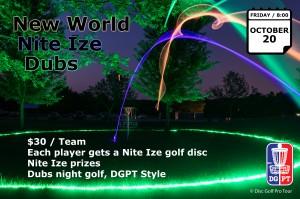 New World Nite Ize Night Golf graphic
