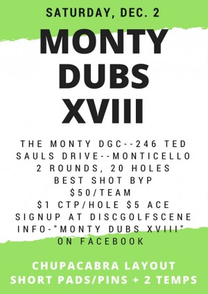 Monty Dubs XVIII graphic