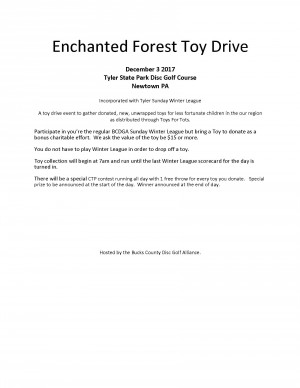 10th Annual Enchanted Forest Toy Drive graphic