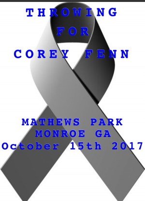 Benefit for Corey Fenn graphic