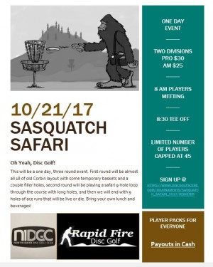 Sasquatch Safari graphic