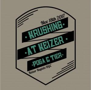 Krushing at Keizer graphic