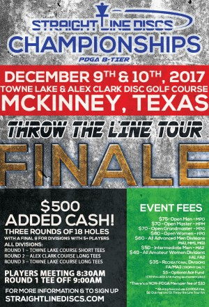 Straight Line Championships - Throw the Line Tour Finale graphic