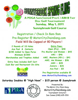 Sunnybrook Spring Fling graphic