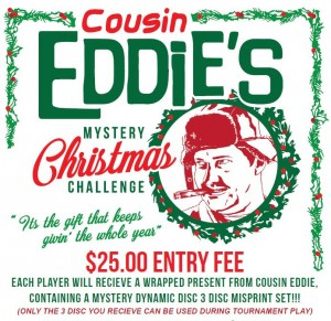 Cousin Eddie's 2017 Mystery Christmas Challenge graphic