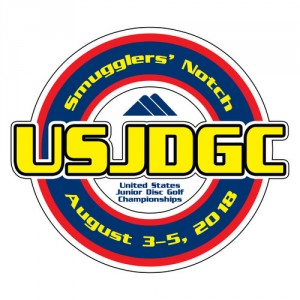 United States Junior Disc Golf Championships graphic