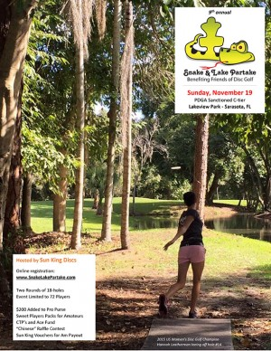 Sun King presents 9th Annual Snake & Lake Partake graphic