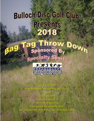 2nd Annual Bag Tag Throwdown graphic