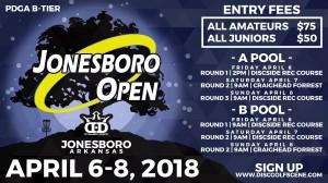 2nd Annual Jonesboro Open (Am Side) graphic
