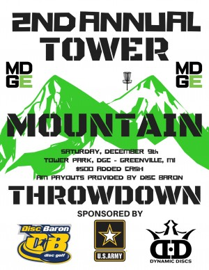 2nd Annual Tower Mountain Throwdown BYOP Doubles graphic