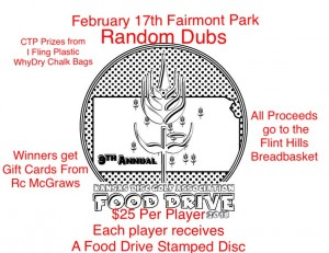 2018 Food Drive Fairmont Park Random Doubles graphic