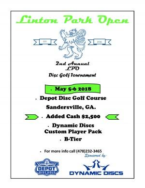 Linton Park Open (LPO) graphic