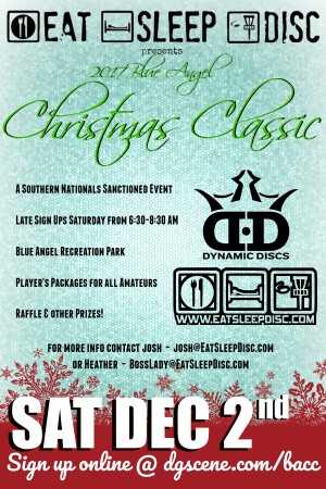 2017 Blue Angel Christmas Classic graphic