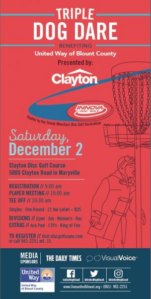 Triple Dog Dare Presented by Clayton graphic