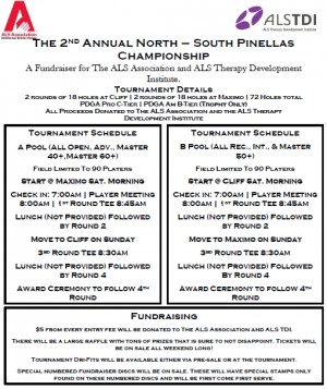 2nd Annual North - South Pinellas Championship graphic