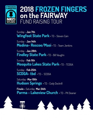 STOP #5 - Frozen Fingers on the Fairway Tour - OAK LEDGES graphic