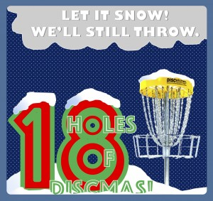 18 Holes of Discmas graphic