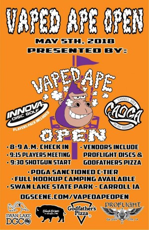 The Vaped Ape Open graphic