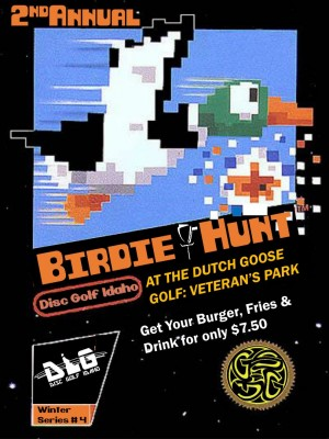 Birdie Hunt at the Dutch Goose graphic