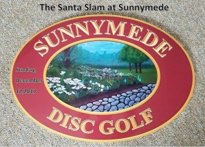 The Santa Slam at Sunnymede graphic